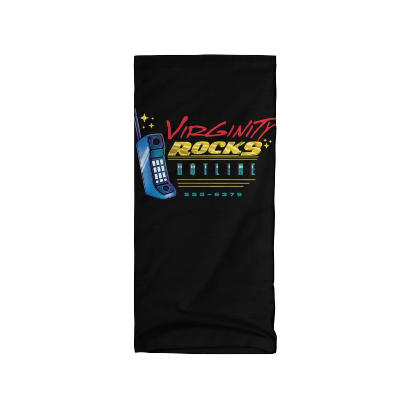 Virginity ROCKS Hotline Accessories Neck Gaiter by Dega Studios
