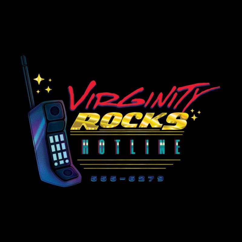 Virginity ROCKS Hotline Men's T-Shirt by Dega Studios