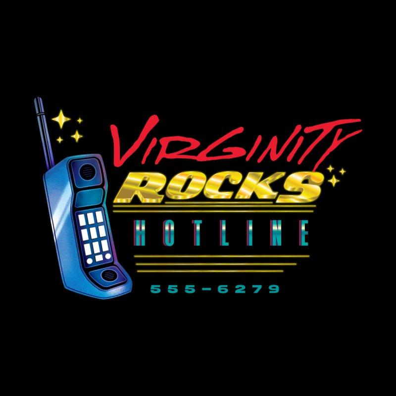 Virginity ROCKS Hotline Women's Tank by Dega Studios