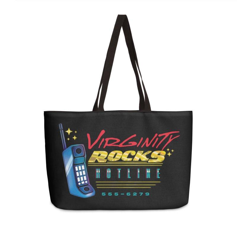 Virginity ROCKS Hotline Accessories Bag by Dega Studios