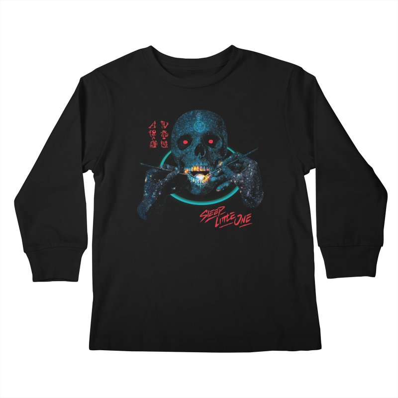 Sleep Little One Kids Longsleeve T-Shirt by Dega Studios