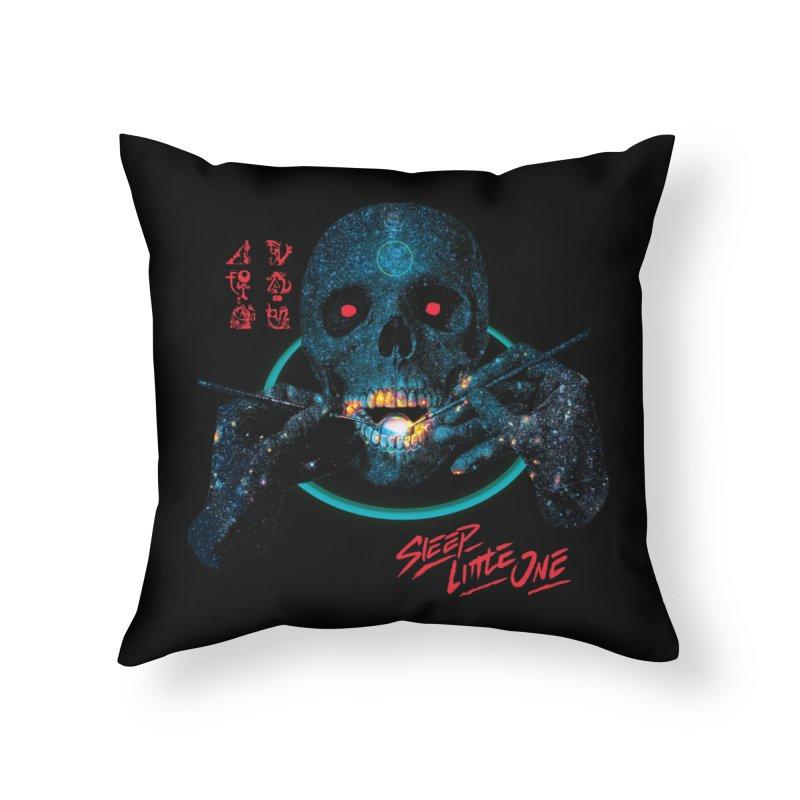 Sleep Little One Home Throw Pillow by Dega Studios
