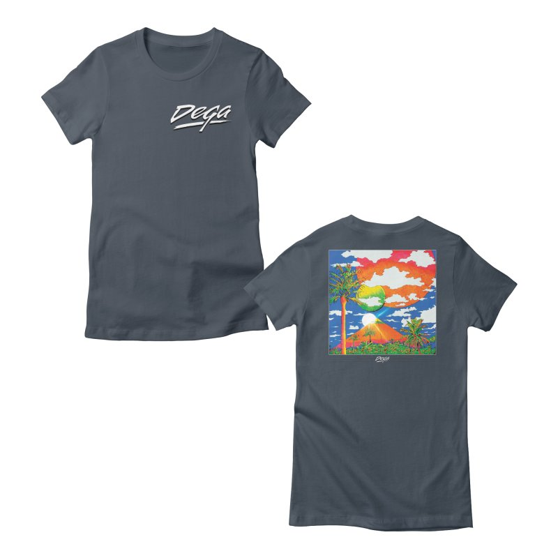 Elysian Fields Women's T-Shirt by Dega Studios