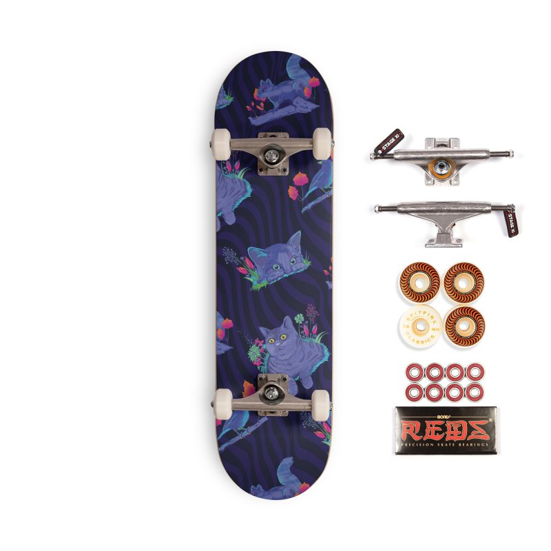 Midnight Rumble Accessories Skateboard by Dega Studios