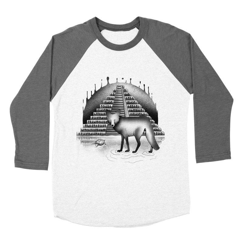 Viaje Mysterioso Women's Baseball Triblend Longsleeve T-Shirt by Dega Studios