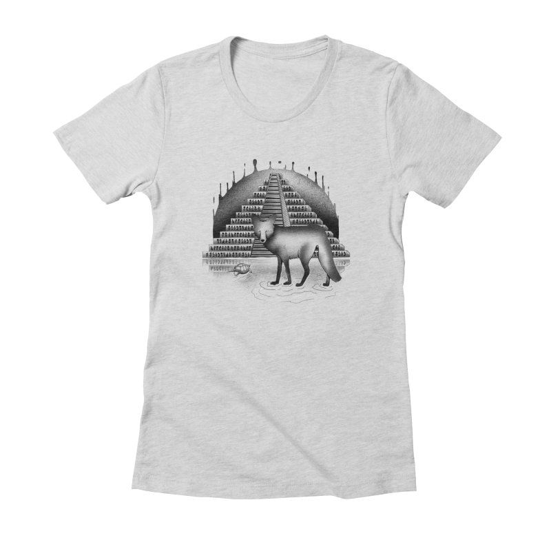 Viaje Mysterioso Women's Fitted T-Shirt by Dega Studios