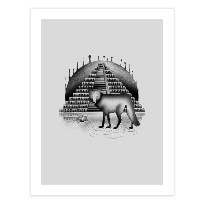 Viaje Mysterioso Home Fine Art Print by Dega Studios