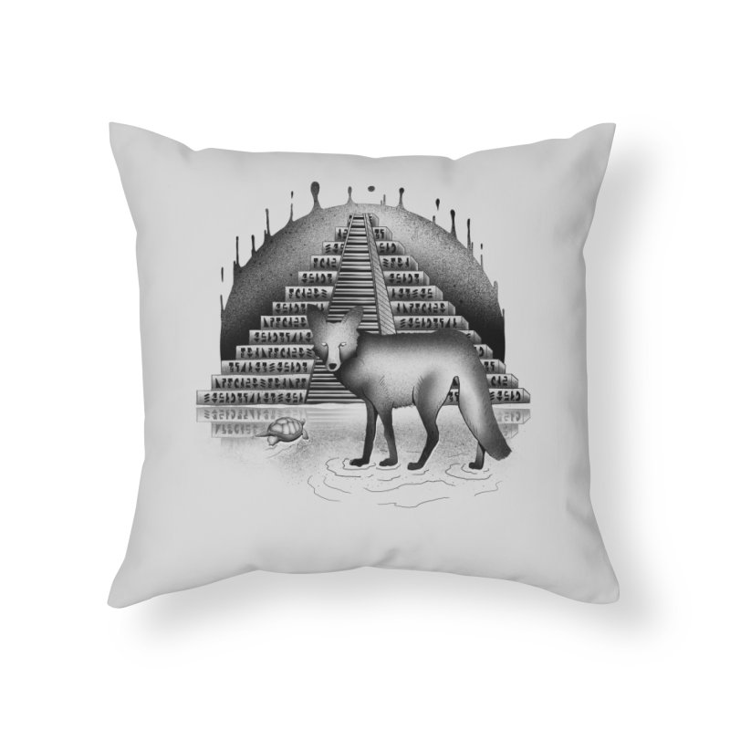 Viaje Mysterioso Home Throw Pillow by Dega Studios