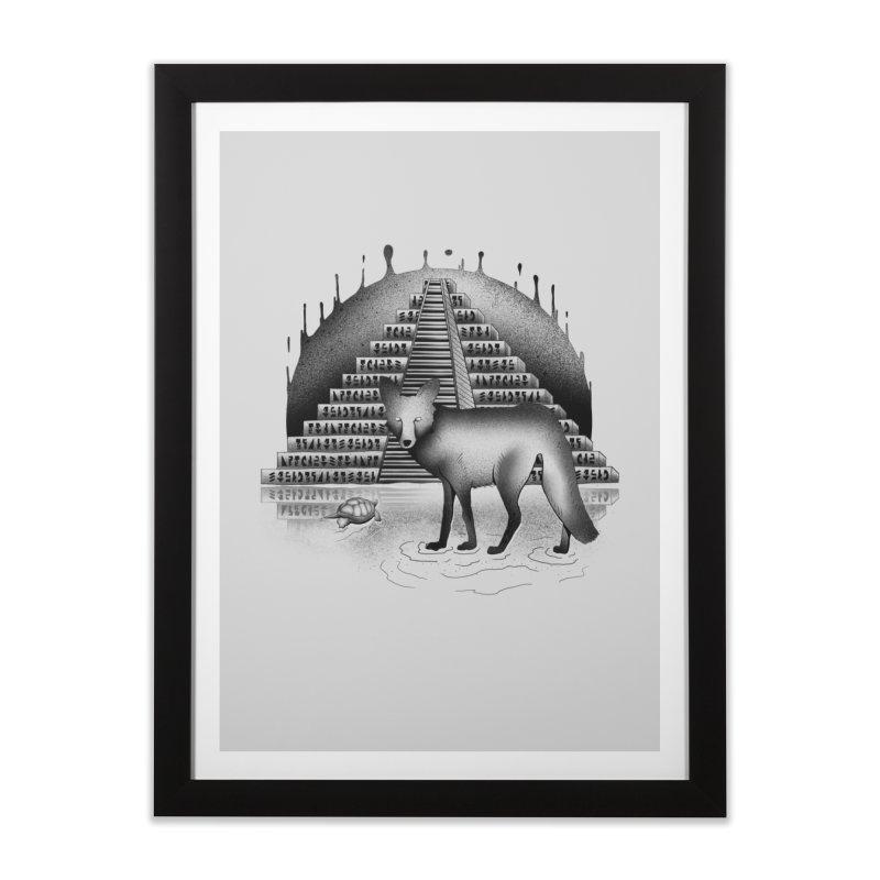 Viaje Mysterioso Home Framed Fine Art Print by Dega Studios
