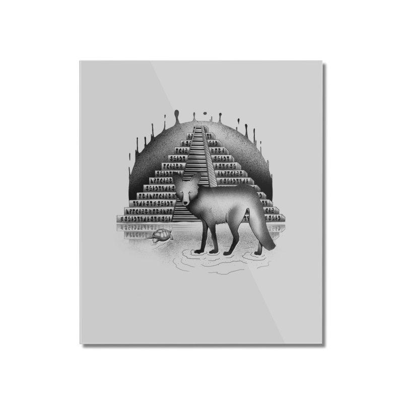 Viaje Mysterioso Home Mounted Acrylic Print by Dega Studios