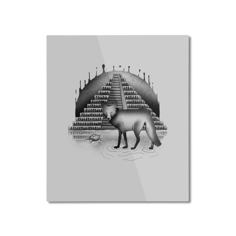 Viaje Mysterioso Home Mounted Aluminum Print by Dega Studios