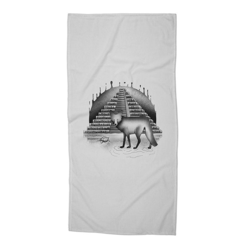 Viaje Mysterioso Accessories Beach Towel by Dega Studios