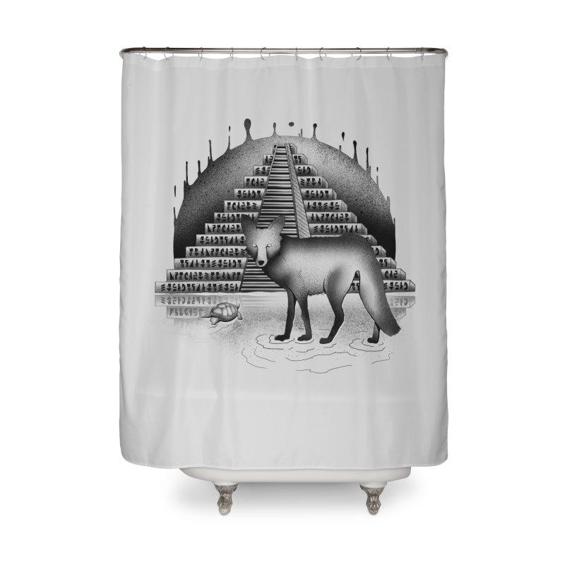 Viaje Mysterioso Home Shower Curtain by Dega Studios