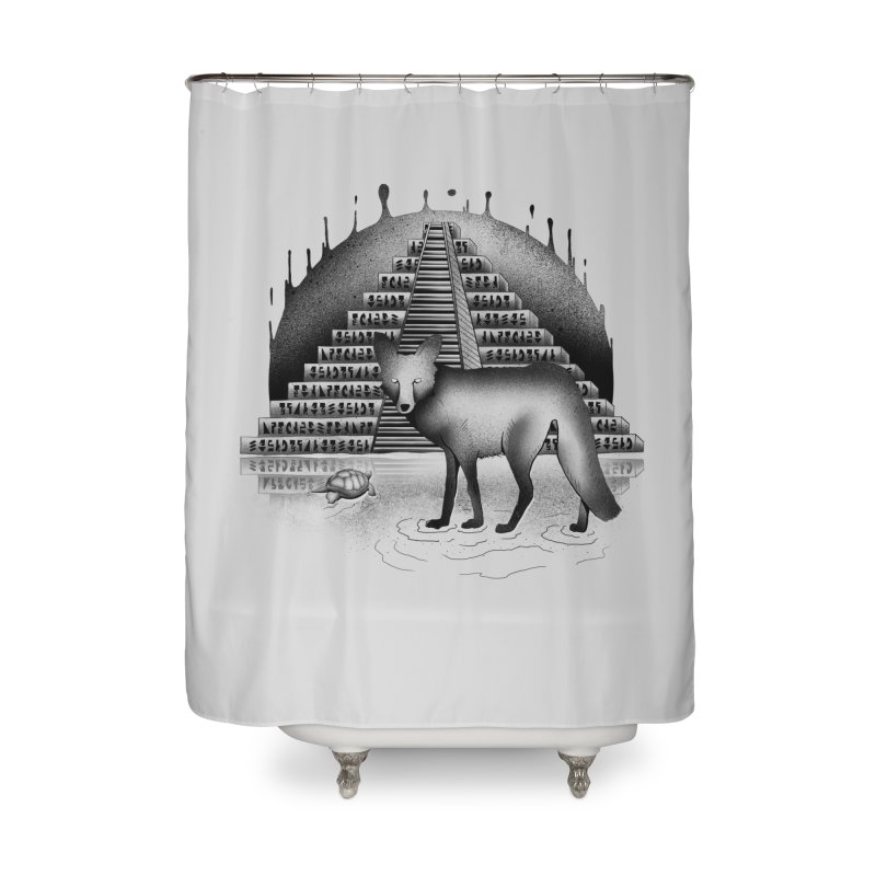 Viaje Mysterioso Home Shower Curtain by Dega Studios