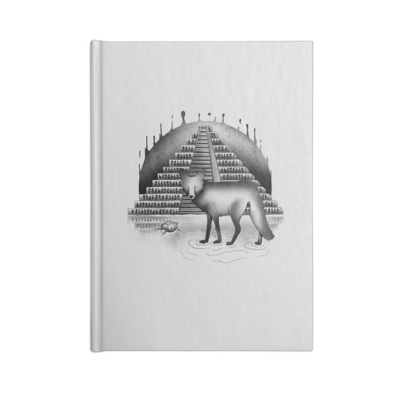 Viaje Mysterioso Accessories Blank Journal Notebook by Dega Studios