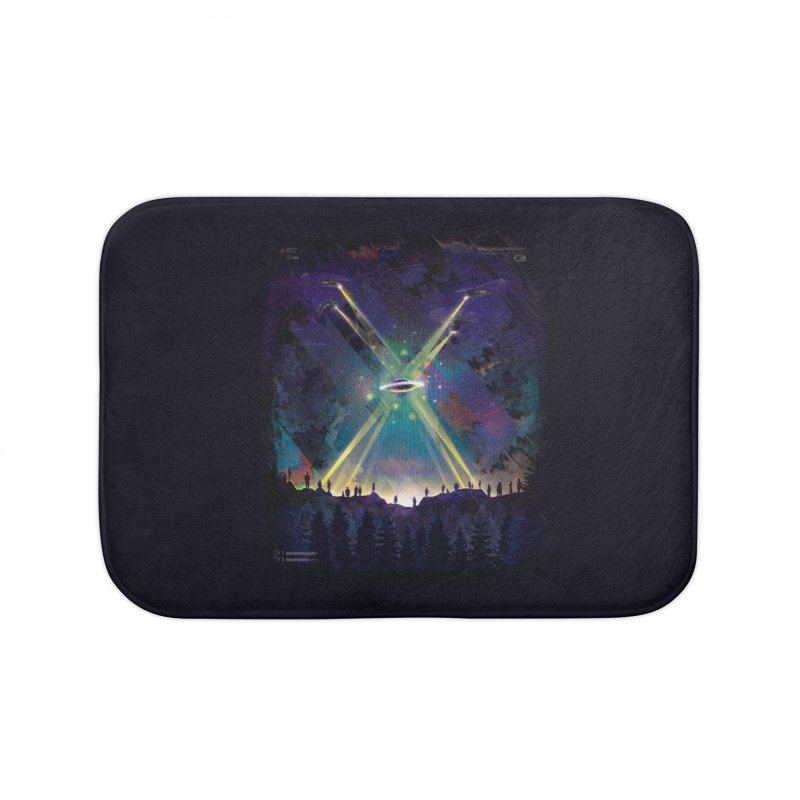Black Helicopters Home Bath Mat by Dega Studios