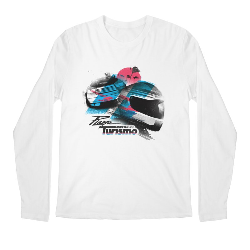 Playa Turismo Men's Longsleeve T-Shirt by Dega Studios