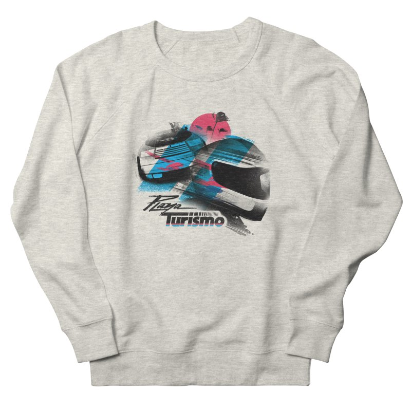 Playa Turismo Women's French Terry Sweatshirt by Dega Studios