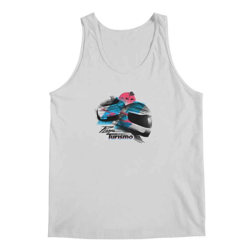 Playa Turismo Men's Regular Tank by Dega Studios