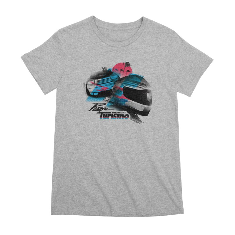 Playa Turismo Women's Premium T-Shirt by Dega Studios