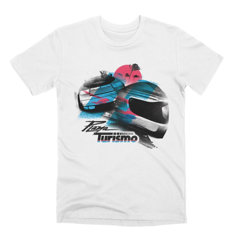 Playa Turismo Men's Premium T-Shirt by Dega Studios