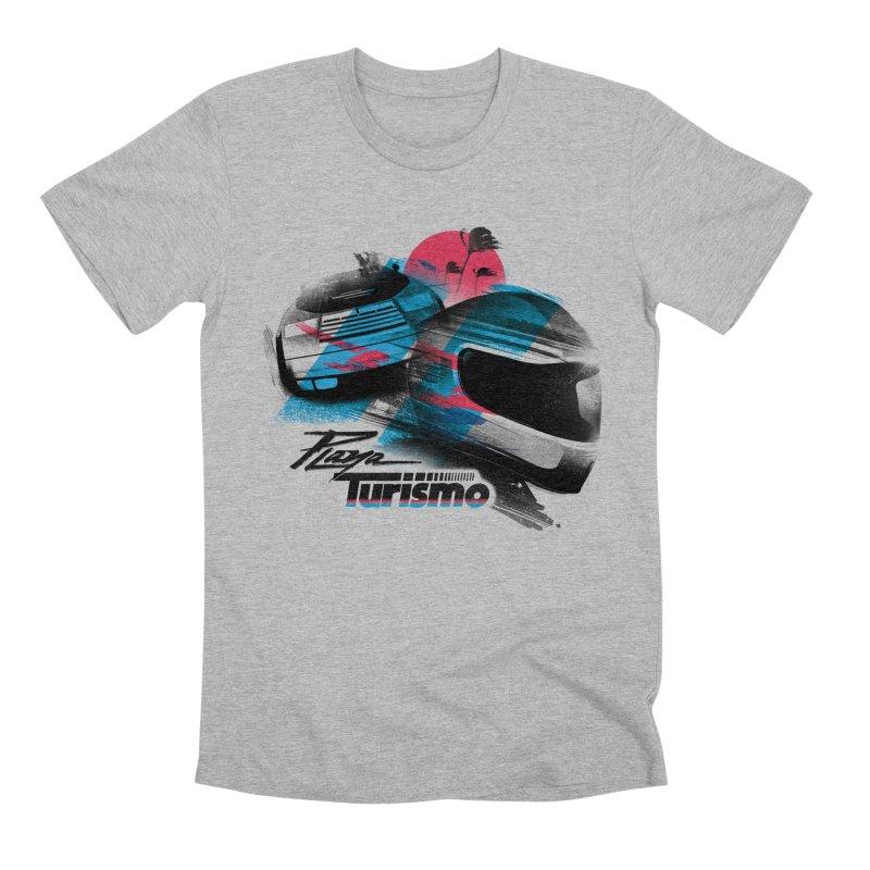 Playa Turismo Men's Premium T-Shirt by Dega Studios