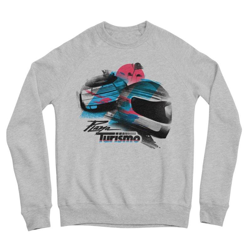 Playa Turismo Men's Sponge Fleece Sweatshirt by Dega Studios