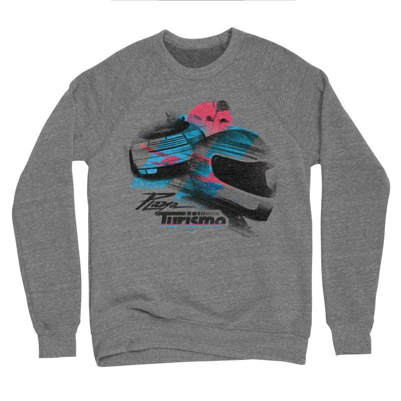 Playa Turismo Women's Sponge Fleece Sweatshirt by Dega Studios