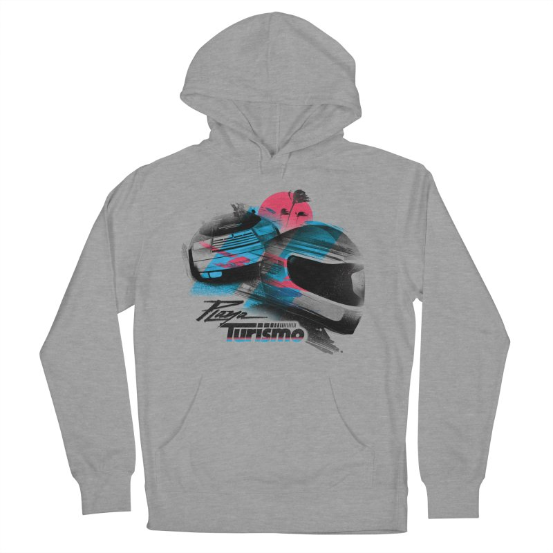 Playa Turismo Men's French Terry Pullover Hoody by Dega Studios