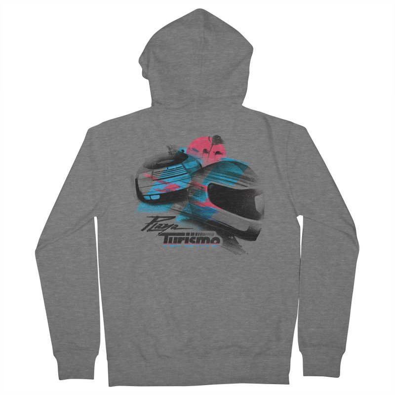 Playa Turismo Men's Zip-Up Hoody by Dega Studios