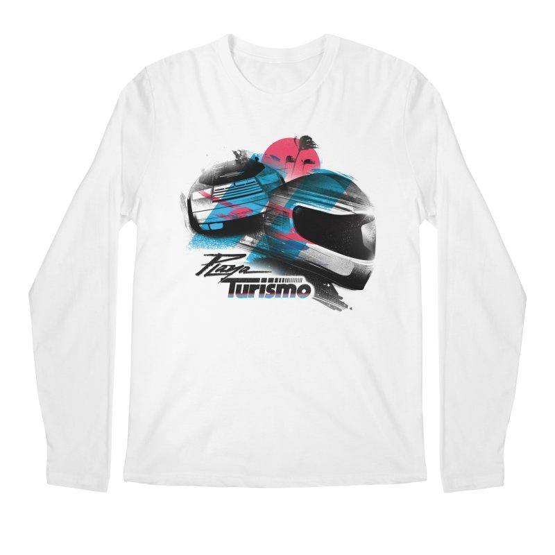 Playa Turismo Men's Regular Longsleeve T-Shirt by Dega Studios