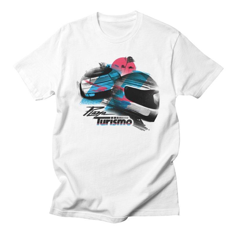 Playa Turismo Men's Regular T-Shirt by Dega Studios