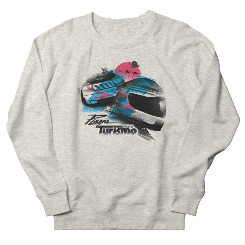 Playa Turismo Men's Sweatshirt by Dega Studios