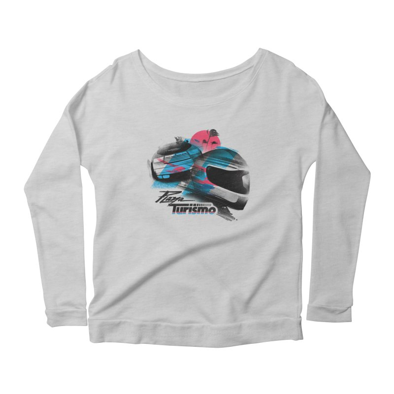 Playa Turismo Women's Scoop Neck Longsleeve T-Shirt by Dega Studios
