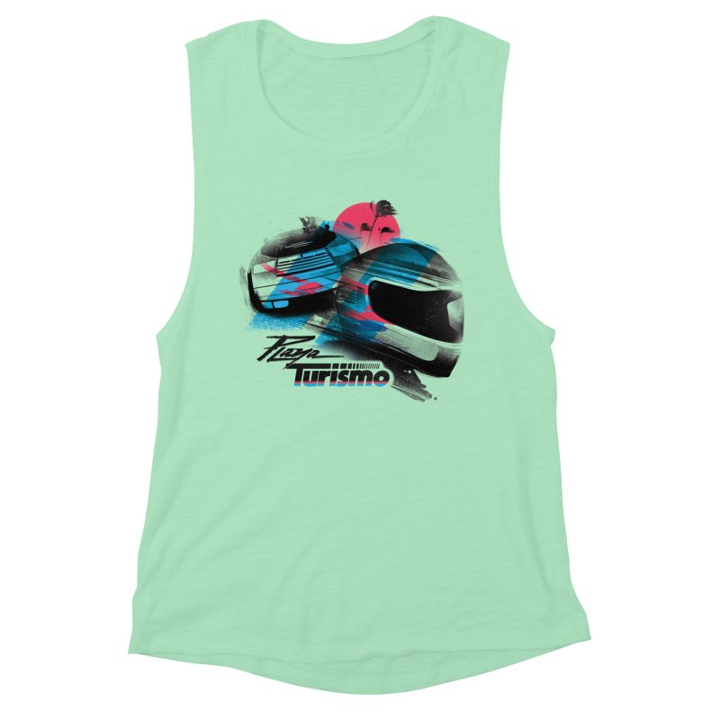 Playa Turismo Women's Muscle Tank by Dega Studios