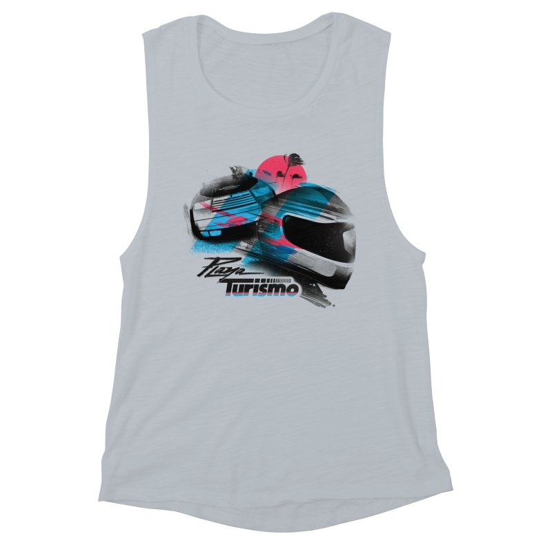 Playa Turismo Women's Muscle Tank by Dega Studios