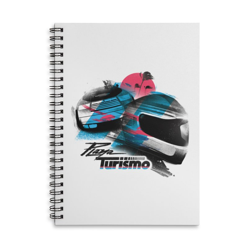 Playa Turismo Accessories Notebook by Dega Studios