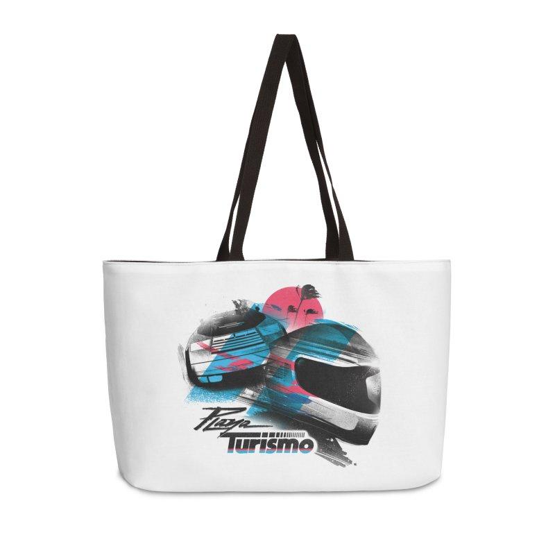Playa Turismo Accessories Weekender Bag Bag by Dega Studios