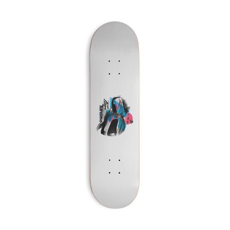Playa Turismo Accessories Skateboard by Dega Studios