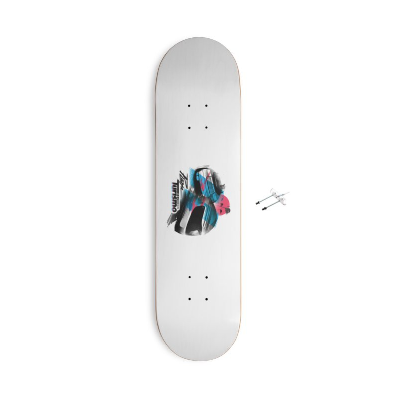 Playa Turismo Accessories With Hanging Hardware Skateboard by Dega Studios