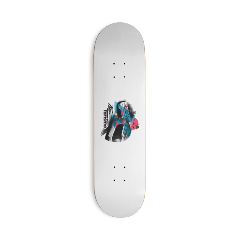 Playa Turismo Accessories Deck Only Skateboard by Dega Studios