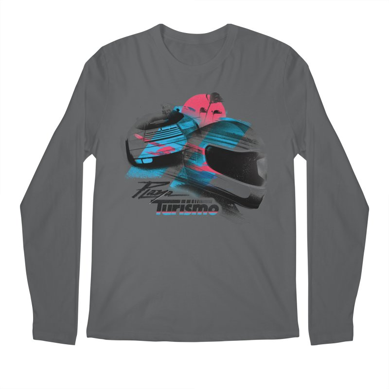Playa Turismo Men's Longsleeve T-Shirt by Dega Studios