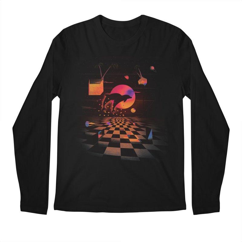 Kepler 307 - Midnight Edition Men's Longsleeve T-Shirt by Dega Studios