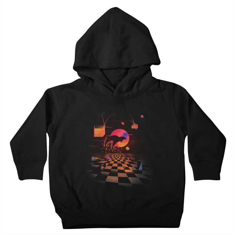 Kepler 307 - Midnight Edition Kids Toddler Pullover Hoody by Dega Studios