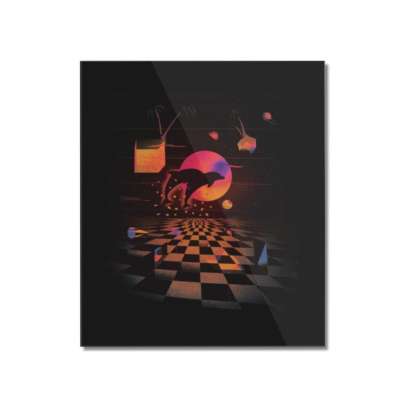 Kepler 307 - Midnight Edition Home Mounted Acrylic Print by Dega Studios