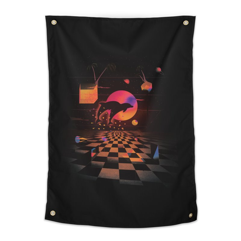 Kepler 307 - Midnight Edition Home Tapestry by Dega Studios