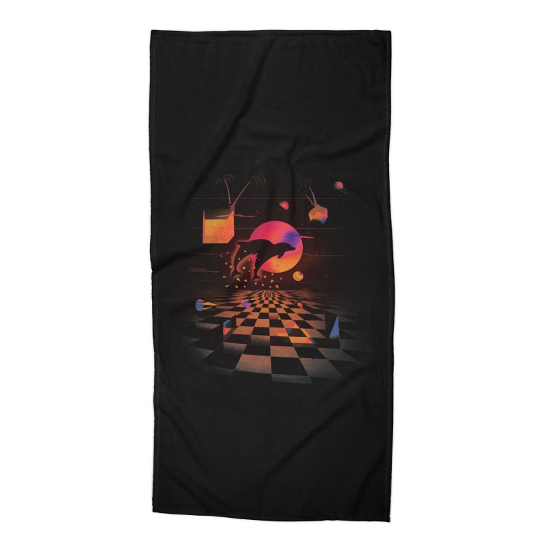 Kepler 307 - Midnight Edition Accessories Beach Towel by Dega Studios
