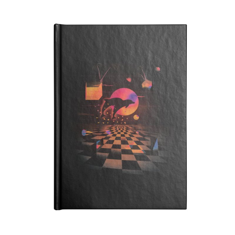 Kepler 307 - Midnight Edition Accessories Notebook by Dega Studios
