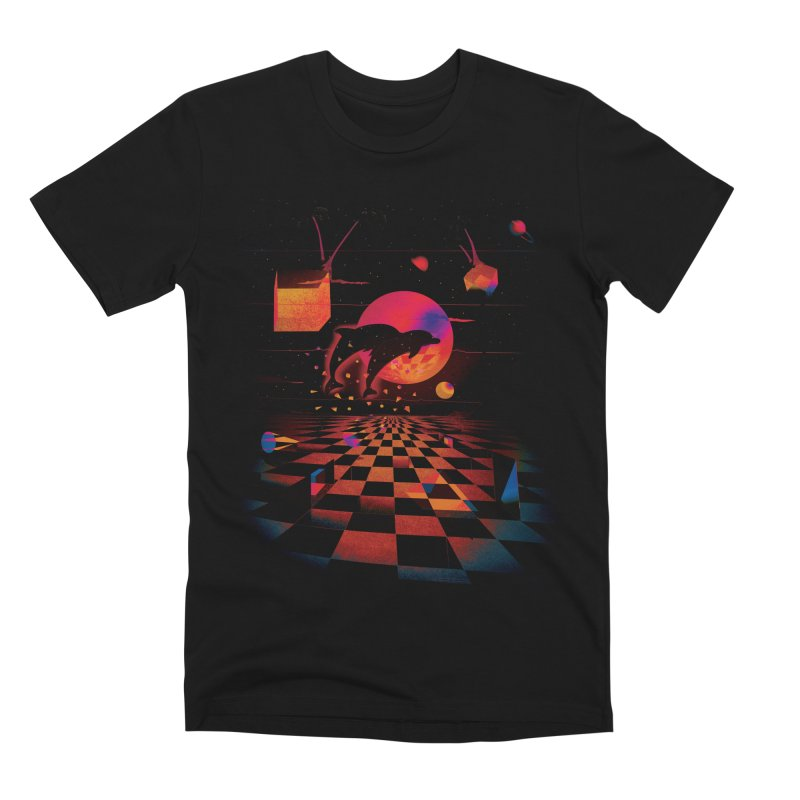 Kepler 307 - Midnight Edition Men's Premium T-Shirt by Dega Studios