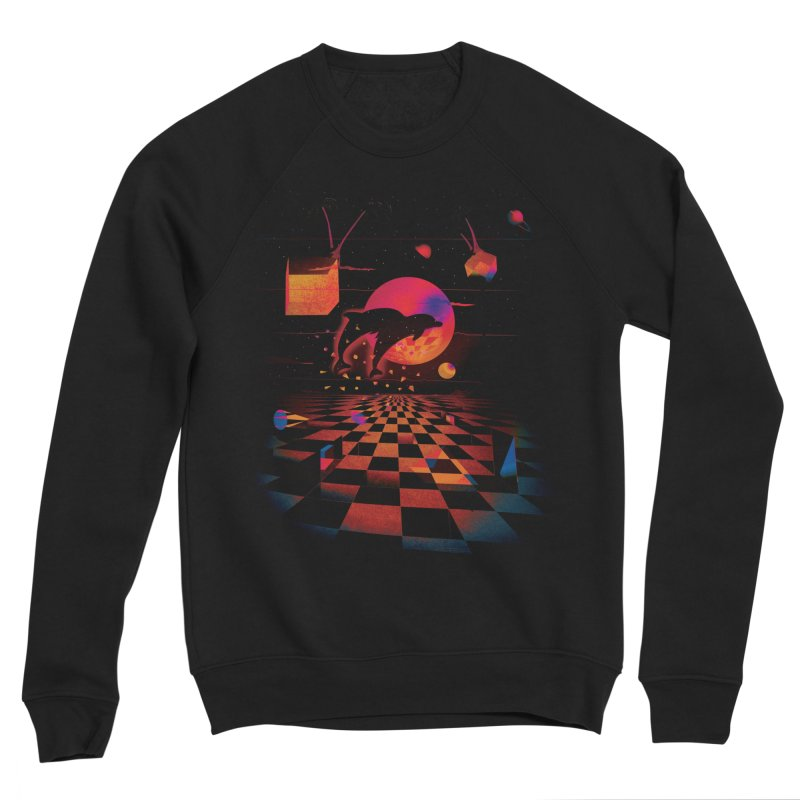 Kepler 307 - Midnight Edition Men's Sponge Fleece Sweatshirt by Dega Studios